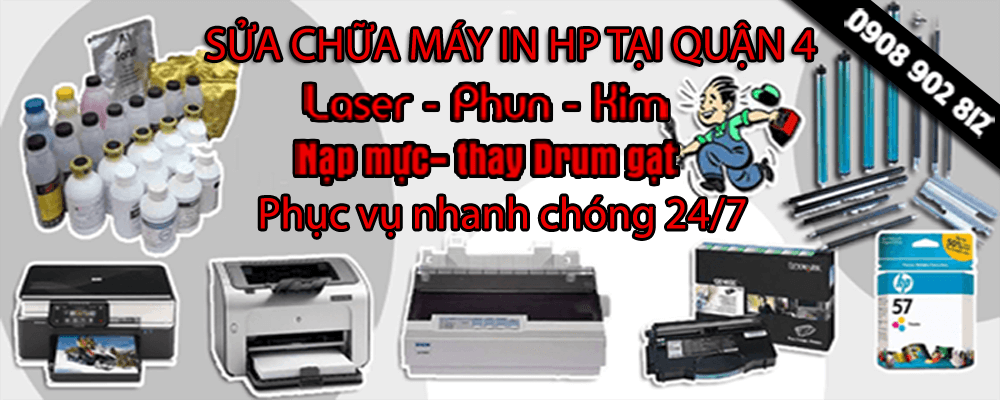 sua may in hp quan 4